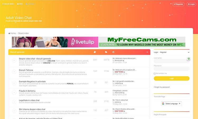 Adultvideochat.ro Forum
