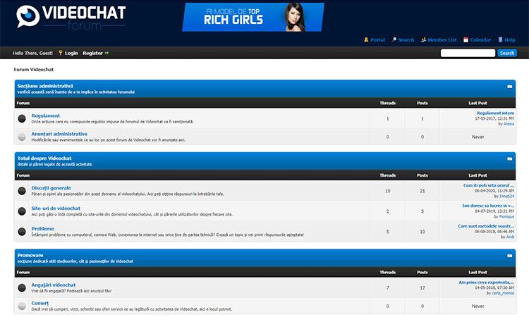 Forum Video Chat Romania