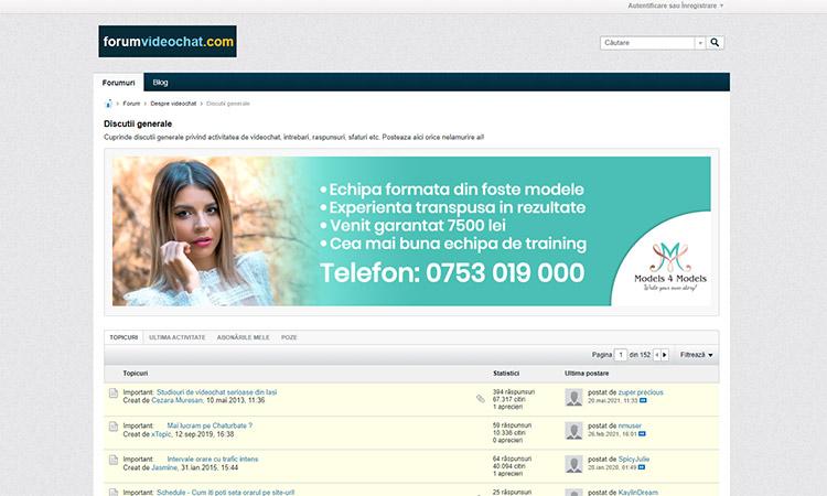 Forum VideoChat Romania