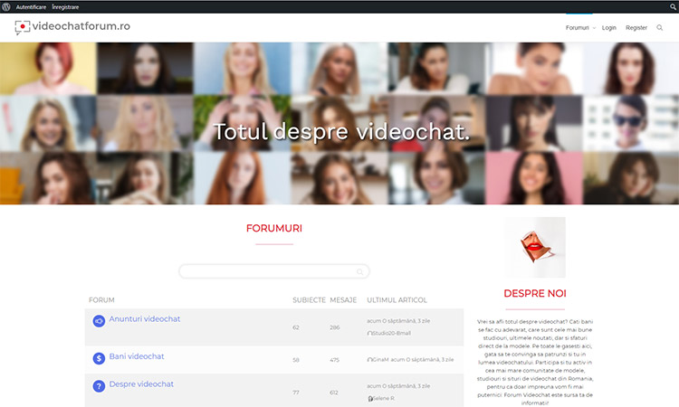 Videochatforum Romania